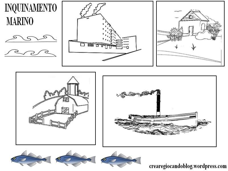 Inquinamento Marino Spiegazione Lavoretto Piu Esperimento